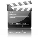 PHOTO INDICATING FILM SHOOTING CLAPPER BOARD